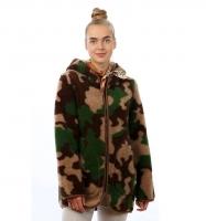 Куртка-ветровка КАТАРИНА Камуфляж зеленый (арт. 3221-03)