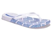 Тапочки женские пляжные голубые (арт. 0986-14)