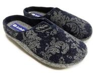 Тапочки войлочные Инблу синие (арт. 1114-син)