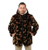 Куртка СКАНДИ Камуфляж коричневый (арт. 1181-07)