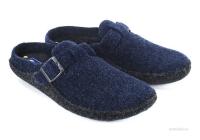 Тапочки сабо синие Инблу (арт. 1116)
