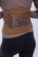Пояс из верблюжьей шерсти (с нашивкой) арт. 111