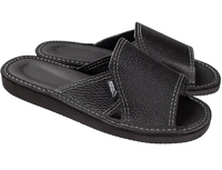 Тапочки домашние мужские кожаные (арт. 710-3 черн)