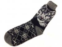 Шерстяные носки Волк