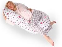Подушка для беременных «Рогалик» 340х35 (иск. лебяжий пух)
