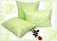 Подушка двусторонняя с лузгой гречихи и бамбуковым волокном 50х70