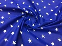 Наволочка U 350х35 бязь звезды на синем