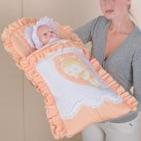 """Конверт для новорождённого """"Цветные сны"""" арт. 62.15"""