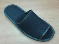 Домашние тапочки джинсовые (арт. 713074)