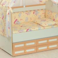 Бампер в кроватку для новорожденного Арт. 30.1