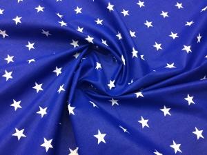 Наволочка с ластовицей U 350х35 бязь звезды на синем
